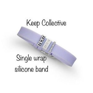 Keep Collective Lavender Silicone Band Keeper
